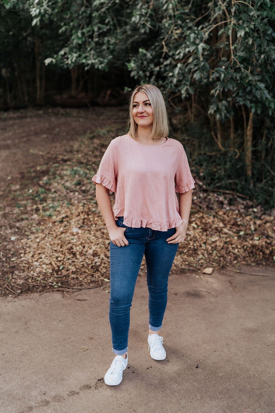 Allegra Top - Blush