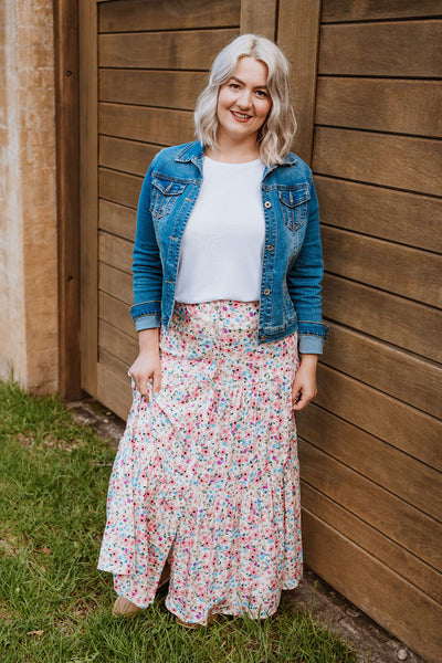 Bertie Skirt - Elkie Floral
