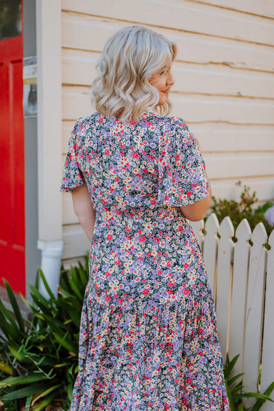 Cali Dress - Ditsy Print