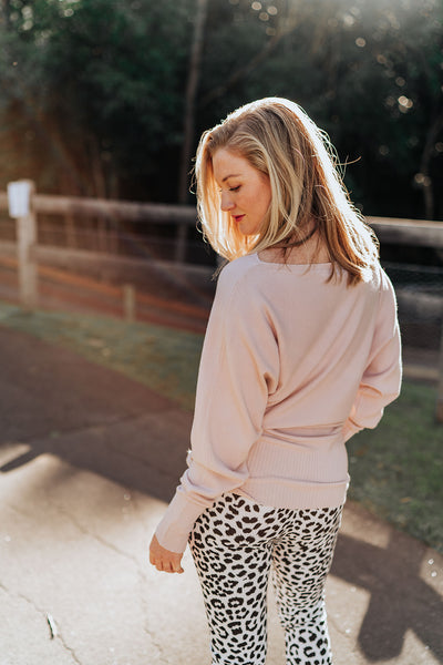 Gracie Knit - Blush