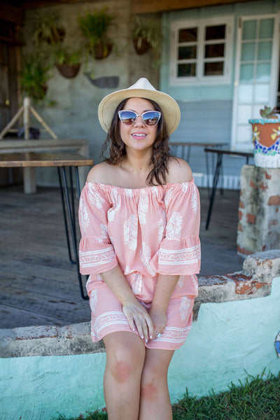 Off Shoulder Sun Dress