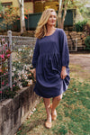 Sadie Dress - Blue
