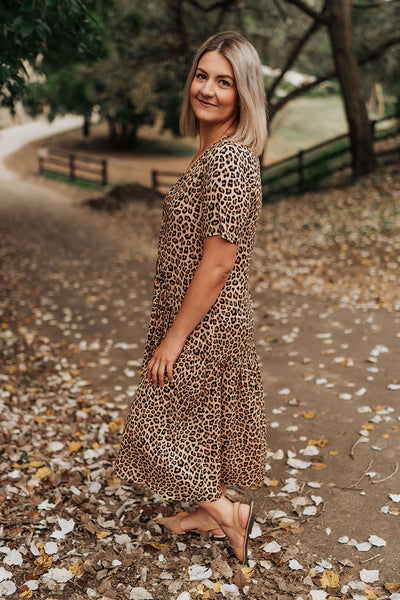 Shelley Dress - Animal Print