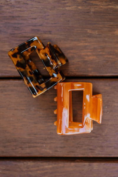 Walker Hair Clip - Tortoise Shell