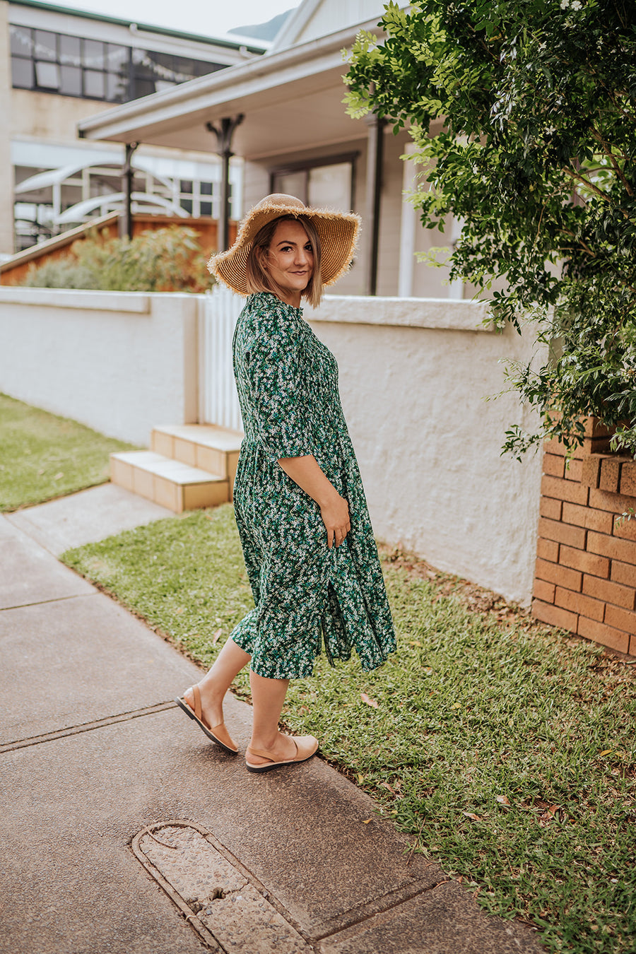 Wallflower Midi Dress