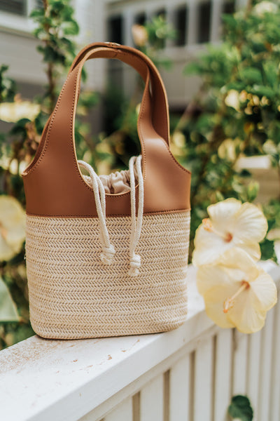 Bucket Tan Bag