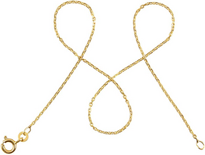 333 Gold Ankerkette diamantiert DELICATE