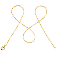 Lade das Bild in den Galerie-Viewer, 333 Gold Ankerkette rund DELICATE 1,3mm
