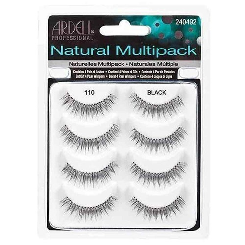 Ardell Natural Lashes - Black 110 Multipack
