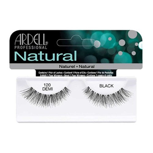 Ardell Natural Lashes - Demi Black 120