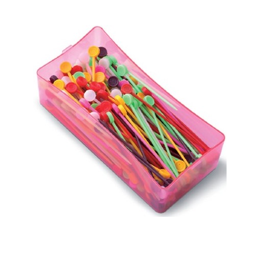 Coloured Roller Pins x 250