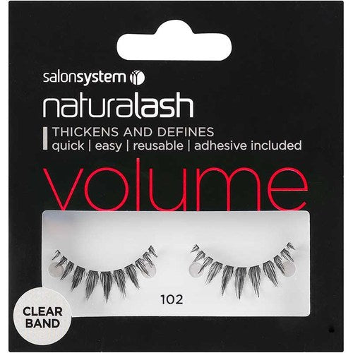 Salon System Naturalash Clear - 102 Black (Volume)