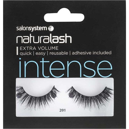 Salon System Naturalash Double Lashes - 201 Black (Intense)