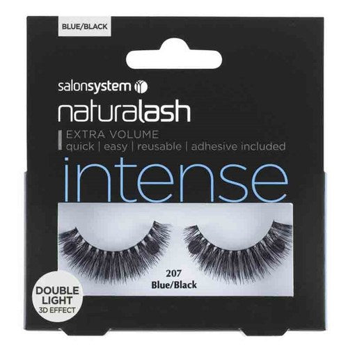 Salon System Naturalash Double Lights - 207 Blue/Black (Intense)