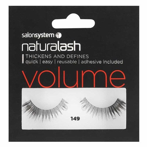 Salon System Naturalash Strip Lashes - 149 Black (Volume)