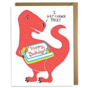 I Get Corner Piece - Birthday Card