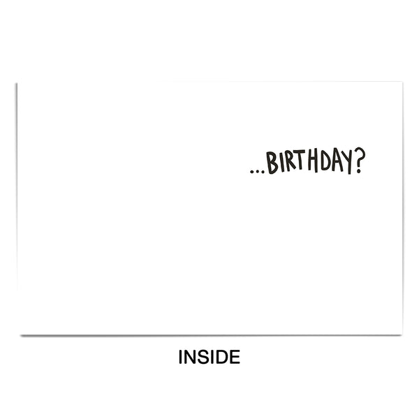 Birthday Bueller Card