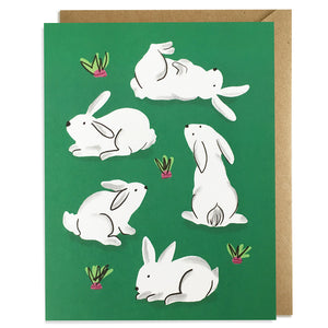 Bunnies - Everyday Card