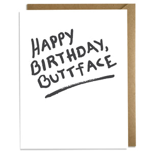 Buttface Birthday Card Wholesale