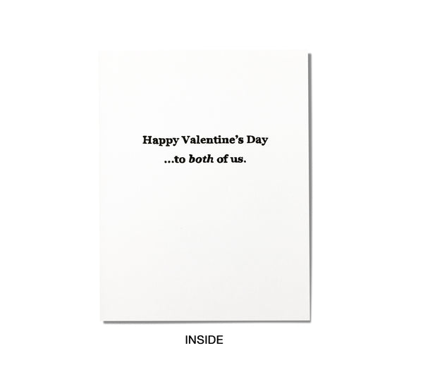 Funny Valentine's Day Card - Candy Consumed