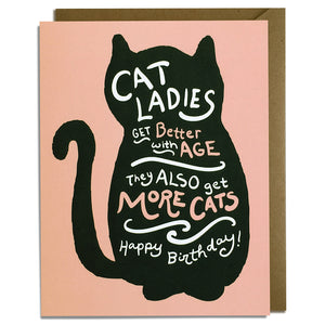 Cat Ladies - Birthday Card