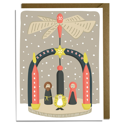 Christmas Candle - Christmas Card