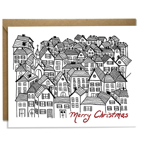 Christmas Village - Christmas Card