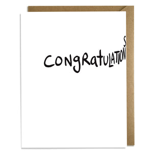 Funny Congratulations Card