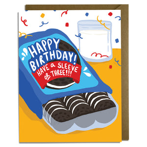 Funny Cookie Birthday Card