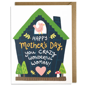 Crazy Wonderful - Mother's Day Card