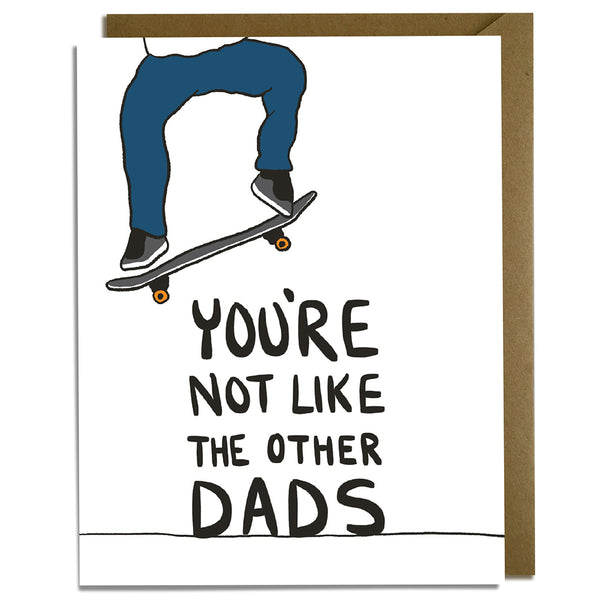 Dad Skate Father's Day Card