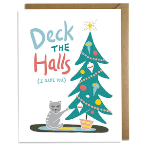 Deck Dare - Christmas Card
