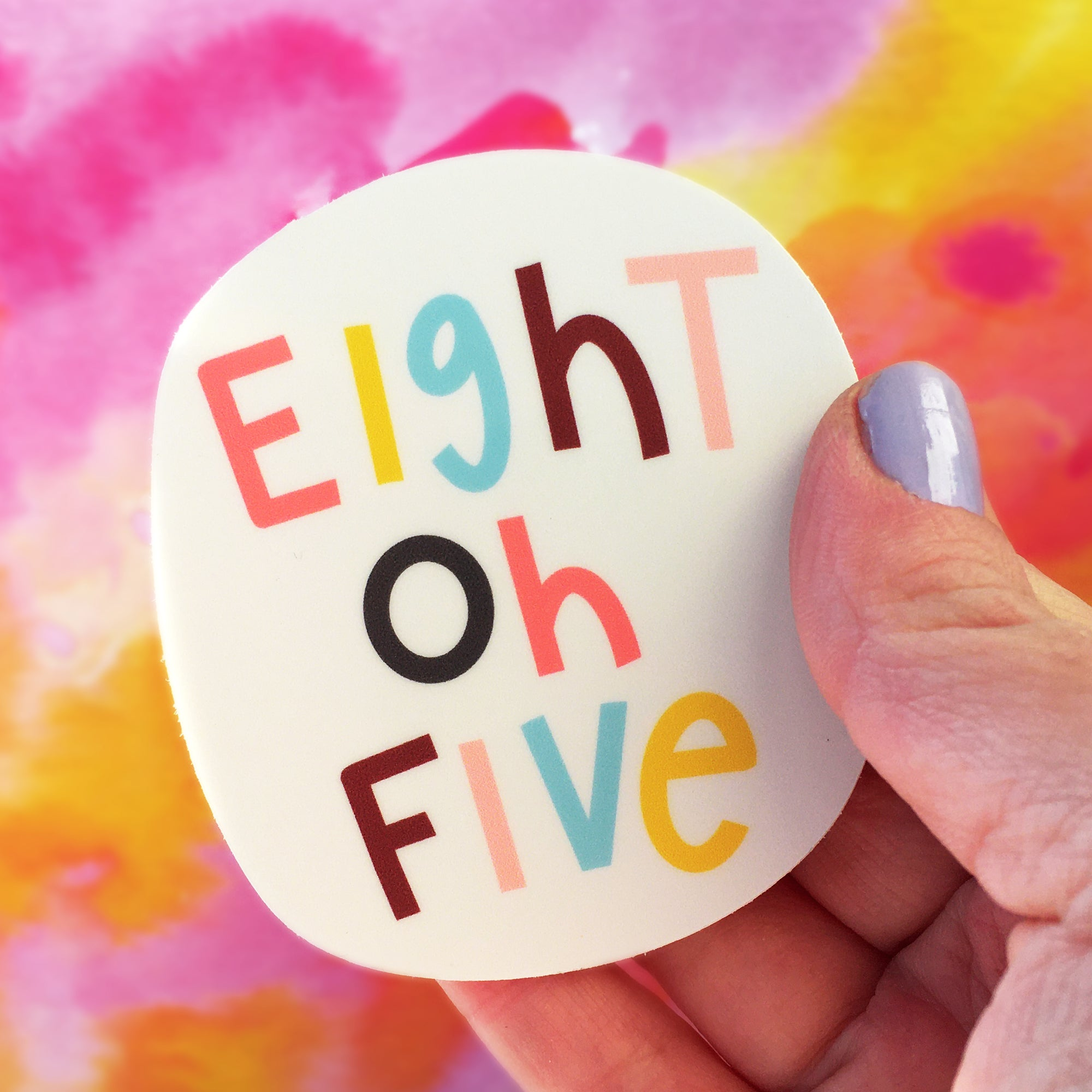 Eight Oh Five 805 Sticker