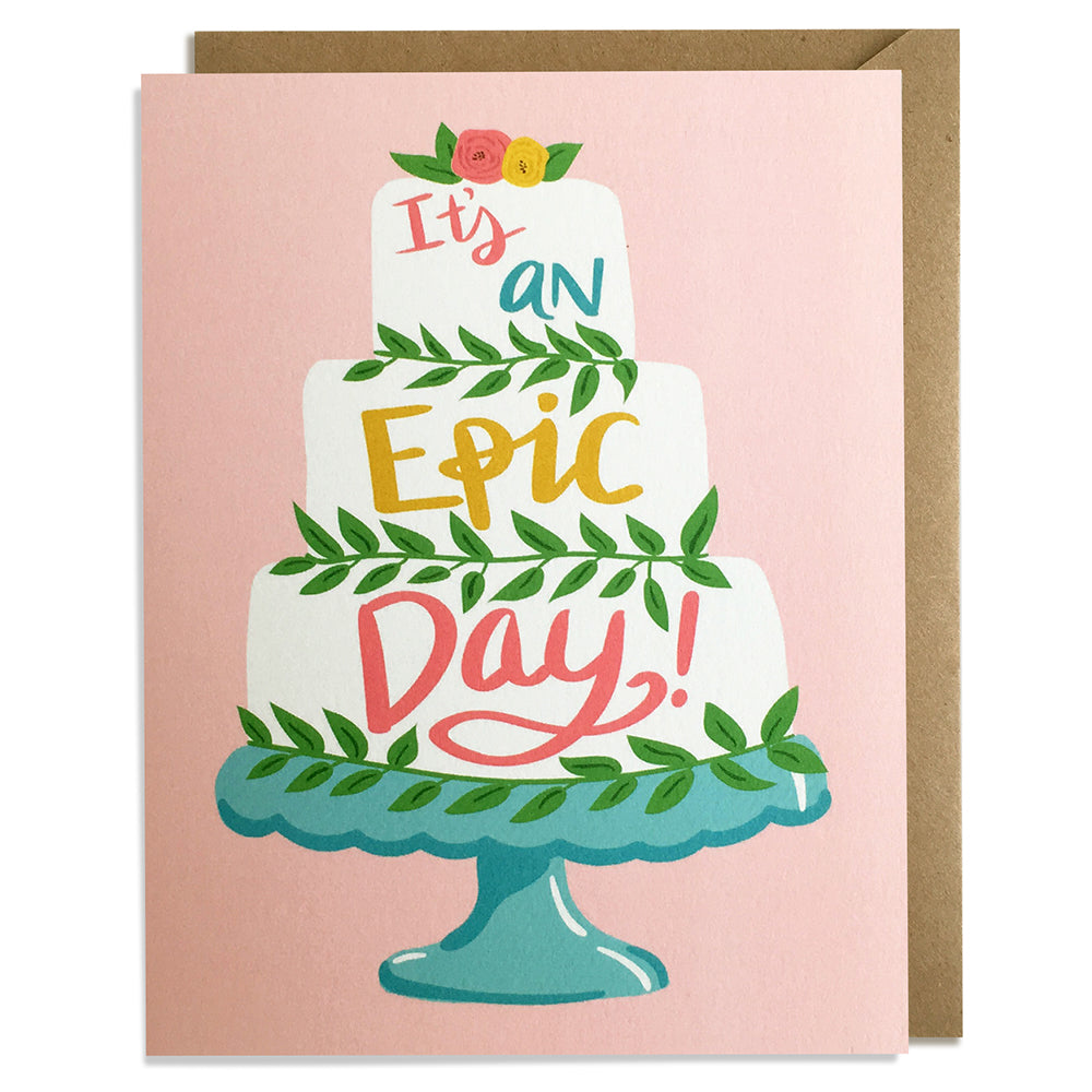 Epic Day - Wedding Card