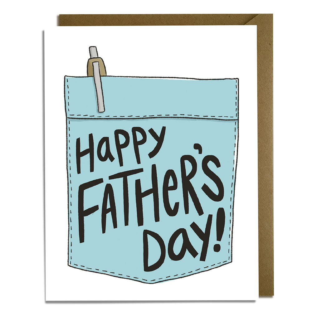 Dad Pocket - Father's Day Card