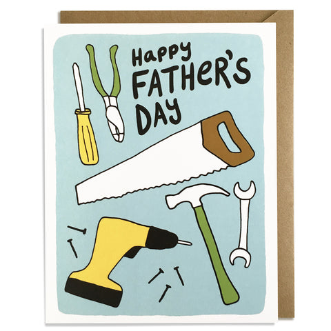 Tools - Father's Day Card
