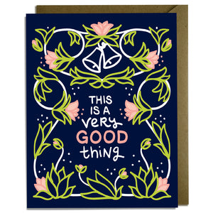 Very Good Thing - Wedding Card Wholesale
