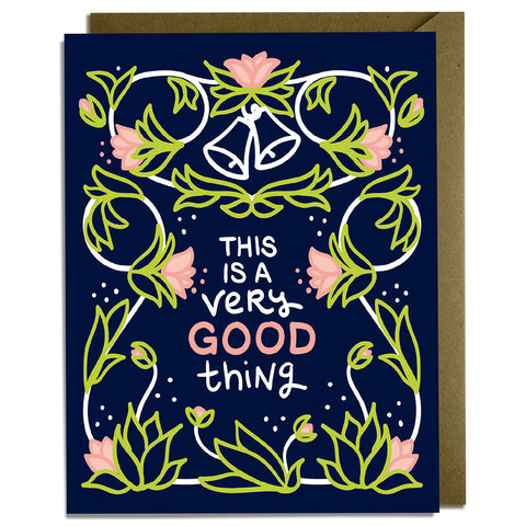 Very Good Thing - Wedding Card