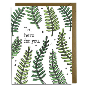 Here For You - Sympathy Card Wholesale