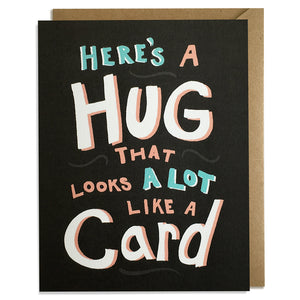 Hug - Friendship Card