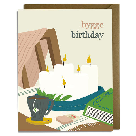 Hygge Birthday Card Wholesale