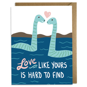 Love Hard to Find - Wedding Card