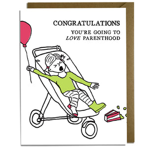 Love Parenthood Baby Card
