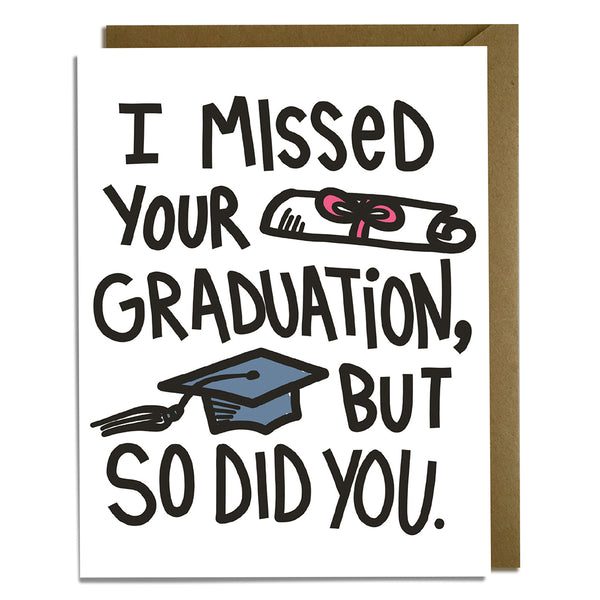 Missed Graduation 2021 Card