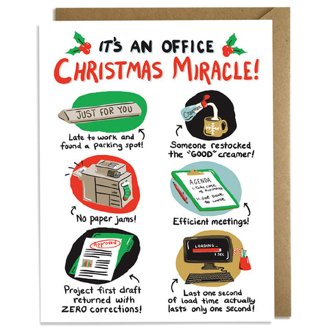 Office Miracle - Christmas Card