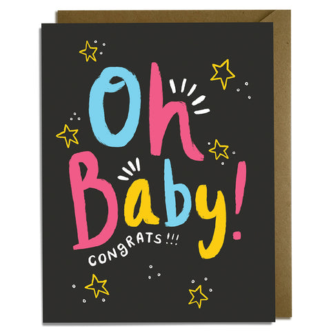 Oh Baby! - Baby Card