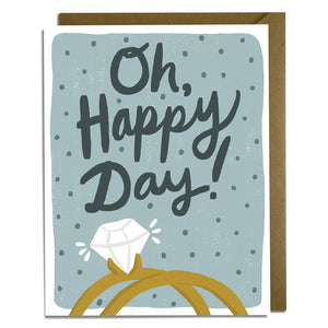 Oh, Happy Day! Wedding Card