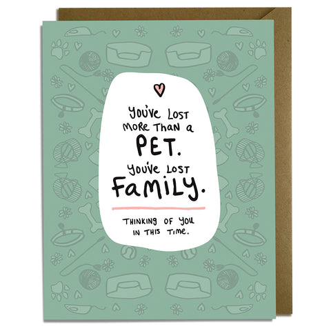 Pet Sympathy - Wholesale Card