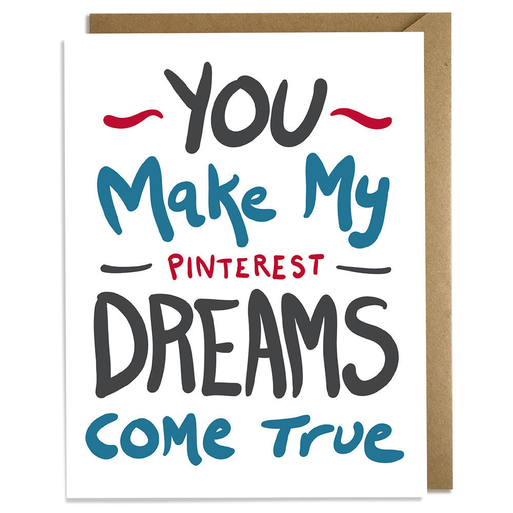 Pinterest Love Card