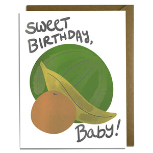 Sweet Birthday Baby Card Wholesale